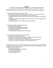 Additional midterm practice questions Jan 2015 v5.1
