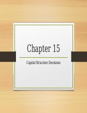 Ch 15 Capital Structure.pptx
