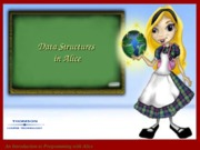 ch 8  Data Structures in Alice