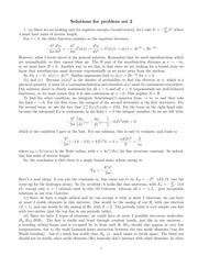 Phys 315 Hamiltonian Equations 2012 Homework Solutions