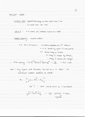 CHEM 40 Spring 2014 Notes on Lecture 21