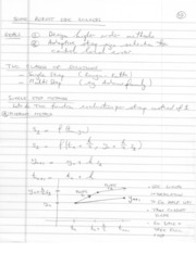 Written notes ODE Solvers II