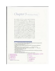 Human Anatomy Lab chapter 5 crossword
