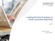 Example of Audit Report 1