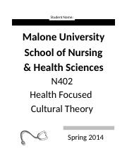 N402 Syllabus Fall 2014