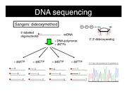 Lecture 3 - DNA Sequencing