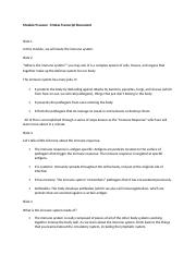 Transcript for Module 9 Lesson 1 Notes Revised (1)