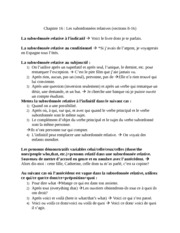 French Notes for Les subordonnées relatives (sections 8-16)