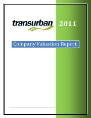 Sample Transurban valuation assignment_2011 sem1_Chris.pdf