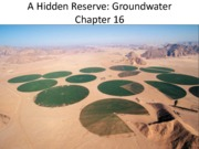 Ch16_Groundwater - part II