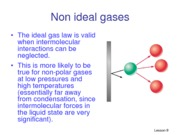 Lesson 9- non ideal gases no answer