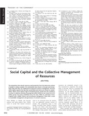 Collective Management of Resources Reading