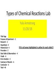 Types of Chemical Reactions Lab Template (1).pptx