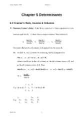 Chapter 5 (B) Determinants_971212