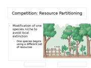 Competition resource partition