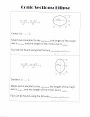 Conic Section pg 6