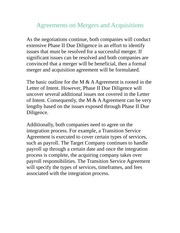 SGMT 4200-Agreements on Mergers and Acquisitions