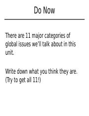 2-ten major categories of global issues.pptx