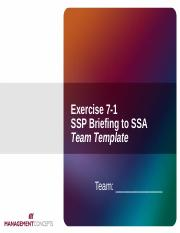 Lesson 7 - Exercise 7-1 Team Template.ppt