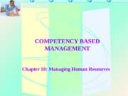 Chapter 18-Managing Human Resources