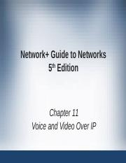 Network+ Guide to Networks 5th Edition ch11.ppt