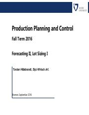 2016-09-08__PPC__Forecasting_II__Lot_Sizing (1)