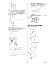Pre-Calculus Homework Solutions 73