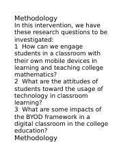 mobile tech _ BYOD_ intervention goal.docx
