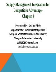 Chapter_44444_Supply_Management_Integration_for_Competitive_Advantage_1.pptx