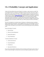 Ch. 2 Probability Concepts and Applications.docx