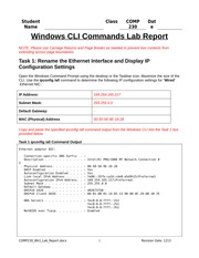 comp 230 week 4 lab
