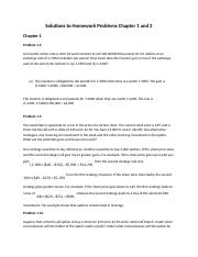 Solutions to Homework Problems Chapter 1 and 2.docx