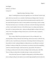 HON 202 Final-Technology in Music.docx