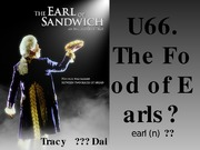 U66 The Food of the Earls new