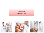 Chapter 9 - Health Care
