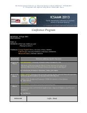 ICSAAM 2013 Conference Programme.pdf