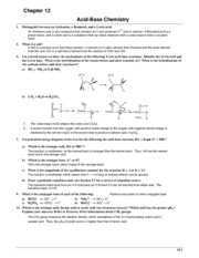 Chem 101 Book Answers (Ch.12)