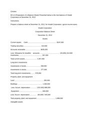 acct550 Acct 550 week 5 homework assignment e8-3 (inventoriable costs) assume that in an annual audit of harlowe inc  at december 31, 2014, you find the following transactions near the closing date  a special machine, fabricated to order for a customer, was finished and specifically segregated in the back part of the shipping room on december 31, 2014.