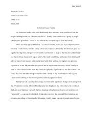 Definition Essay On Family