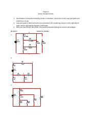 Project 2 Series-Parallel Circuits