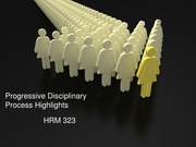 HRM 323 Week 4 Individual Assignment Disciplinary Process Presentation