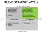 grand strategy matrix starbucks The bcg matrix is a corporate planning tool that identifies four types of  of business brand portfolio and suggest further investment strategies.