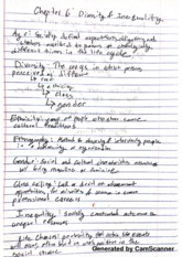 Soc Chp Diversity And Inequality Notes
