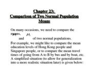 ch23comparisonoftwonormalpopulationmeans.studentview