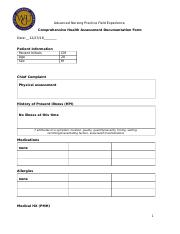 Comprehensive_Health_Assessment_Documentation_Form filled out C350.docx