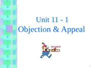 11_1 Objection & Appeals -2011 - s