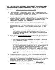 climate change the facts essay.docx