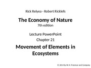 ricklefs_lecture_ppt_ch21