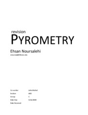 Pyrometry second Draft version 2