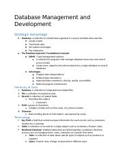 Database Management and Development.docx